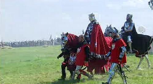 Rekonstrukce bitvy u Grunwaldu