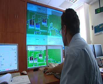 Dispečer kontroluje stav kolektorové sítě