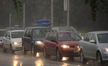 Deštivé počasí na západě Čech