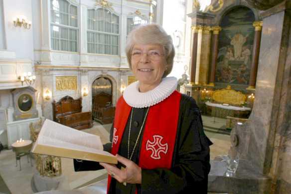 Luteránská biskupka Maria Jepsenová