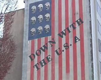 Protiamerický nápis