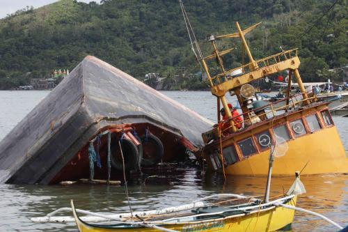 Následky tajfunu