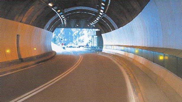 Tunel pod Mont Blankem
