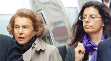 Liliane Bettencourtová s dcerou