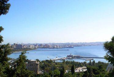 Záliv v Baku