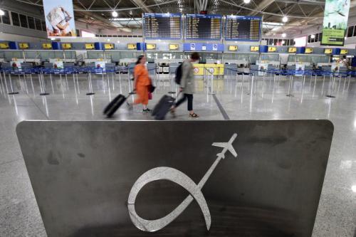 Osiřelé řecké letiště