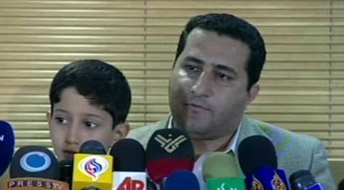 Šahram Amírí po návratu do Íránu