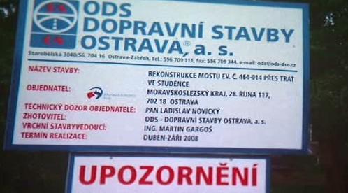 ODS - Dopravní stavby Ostrava