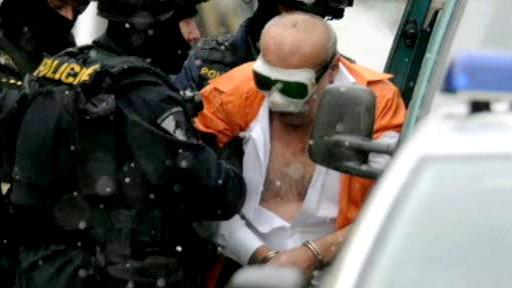 Zadržený Krstev po přepadení banky