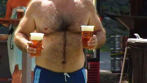 Léto s pivem