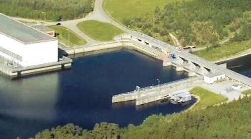 Hněvkovická přehrada