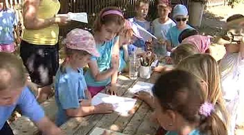 Děti v chomutovském zooparku plní úkoly