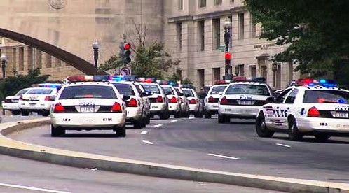 Zásah policie v USA
