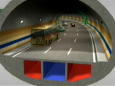 Simulace tunelu Blanka