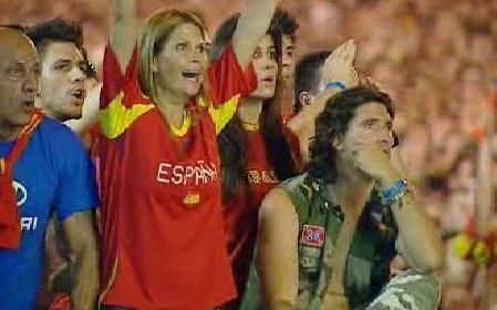 Španělští fanoušci