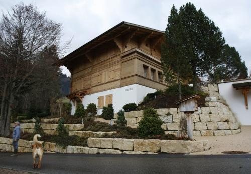 Švýcarské sídlo Romana Polanského