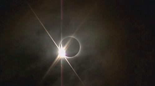 Zatmění SLunce v Jižní Americe