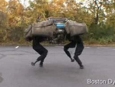 Vojenský robot BigDog