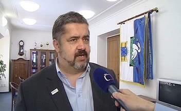 Chrastavský starosta Michael Canov