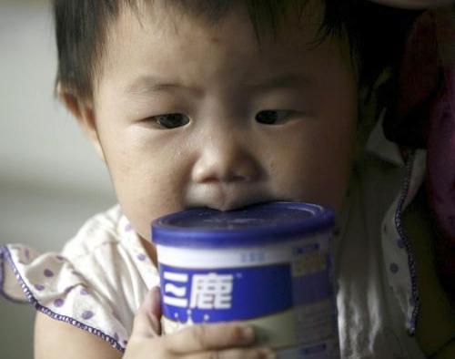 Na čínské děti útočí nebezpečný melamin