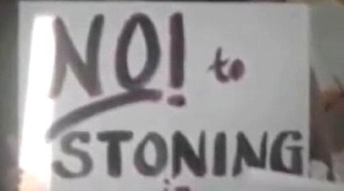 Protest proti kamenování