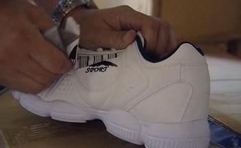Falešná bota Adidas