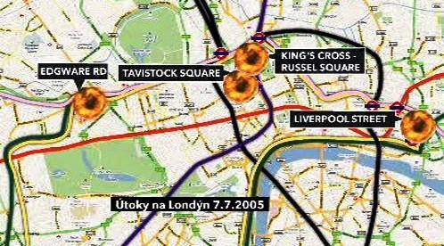 Útoky na Londýn