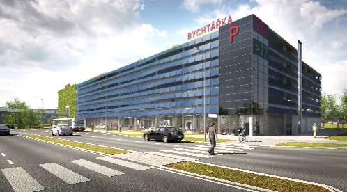 Plzeňský parkovací dům