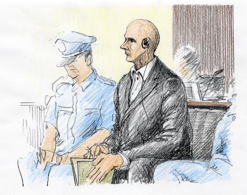 Peter Bethune před tokijským soudem