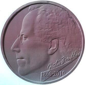 Gustav Mahler na pamětní minci