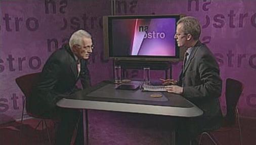Pořad Naostro s Václavem Klausem