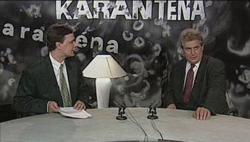 Pořad Karanténa s Milošem Zemanem