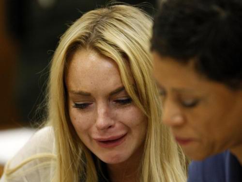 Lindsey Lohanová před soudem