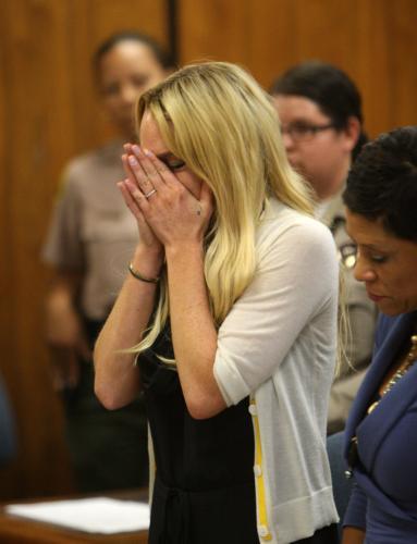Americká herečka Lindsey Lohanová půjde na 90 dní do vězení