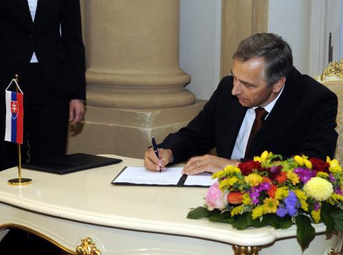 Podpis koaliční dohody