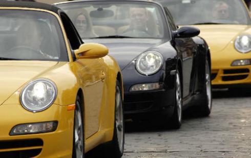 Setkání majitelů vozů Porsche