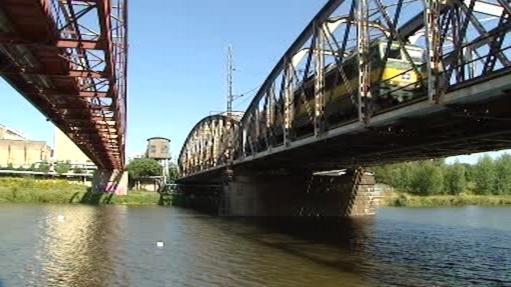 Kolínské mosty přes Labe