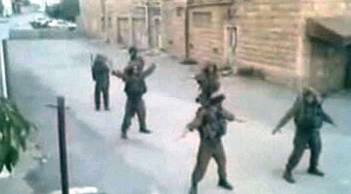 Tančící izraelští vojáci