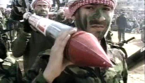 Palestinští bojovníci