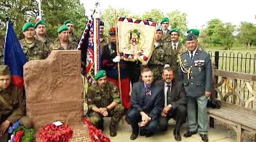 Vzpomínka na válečné veterány
