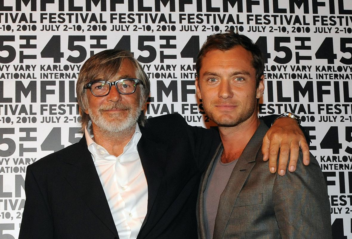 Jude Law a Jiří Bartoška