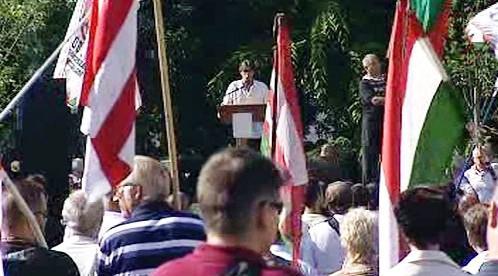 Setkání Maďarské národní gardy