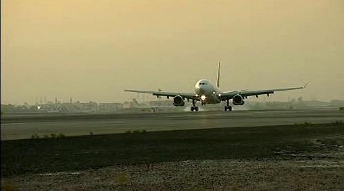 Přistání letadla