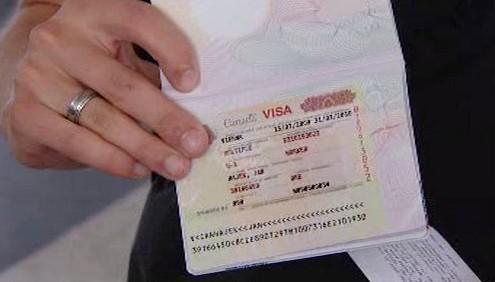 Kanadské vízum