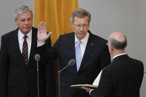 Nový německý prezident složil přísahu
