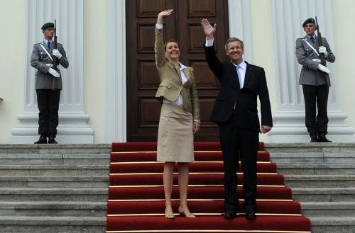 Německý prezidentský pár