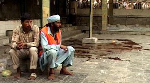 Výbuch v pákistánském Láhauru