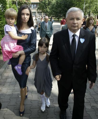 Marta Kaczyńská a Jaroslaw Kaczyński