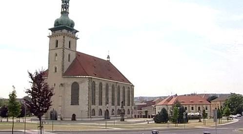 Děkanský kostel v Mostě