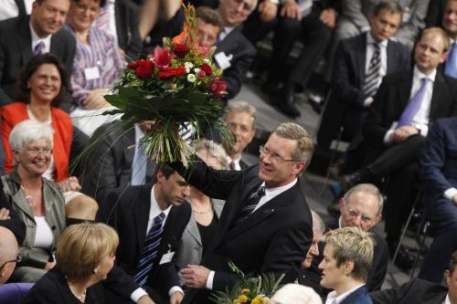 Nový německý prezident Christian Wulff